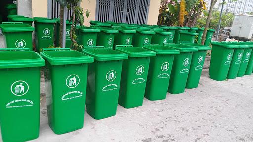 Thùng rác đường phố